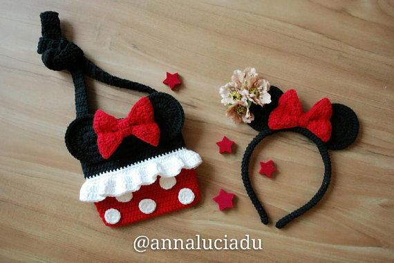 Minnie mouse and headband 1